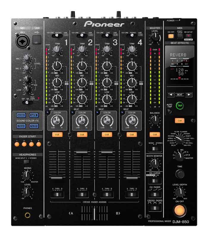 PIONEER DJM-850 K Mischpult