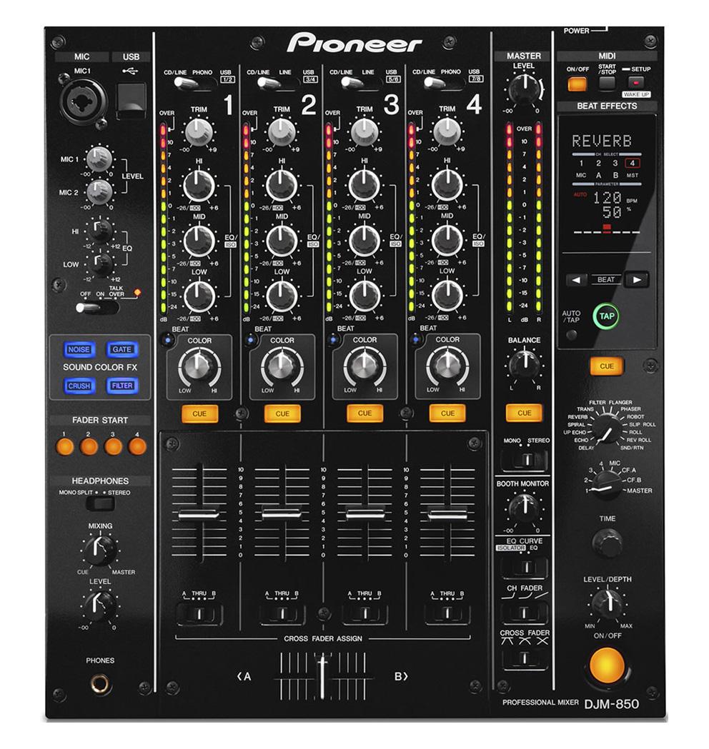 Neu in der Vermietung: Pioneer DJM-850