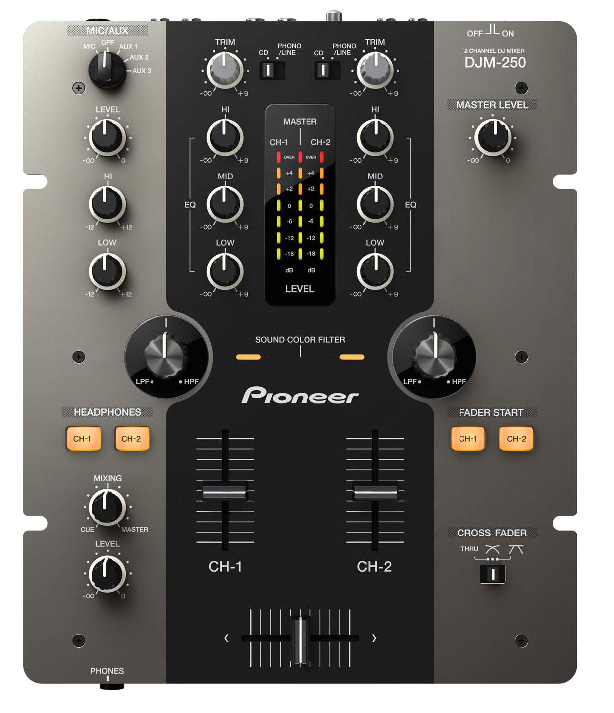 PIONEER DJM-250K MISCHPULT