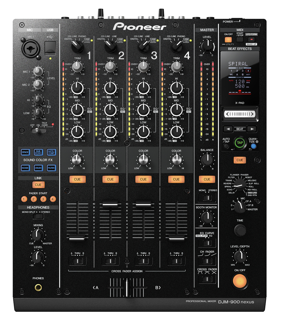 PIONEER DJM-900 NEXUS MISCHPULT