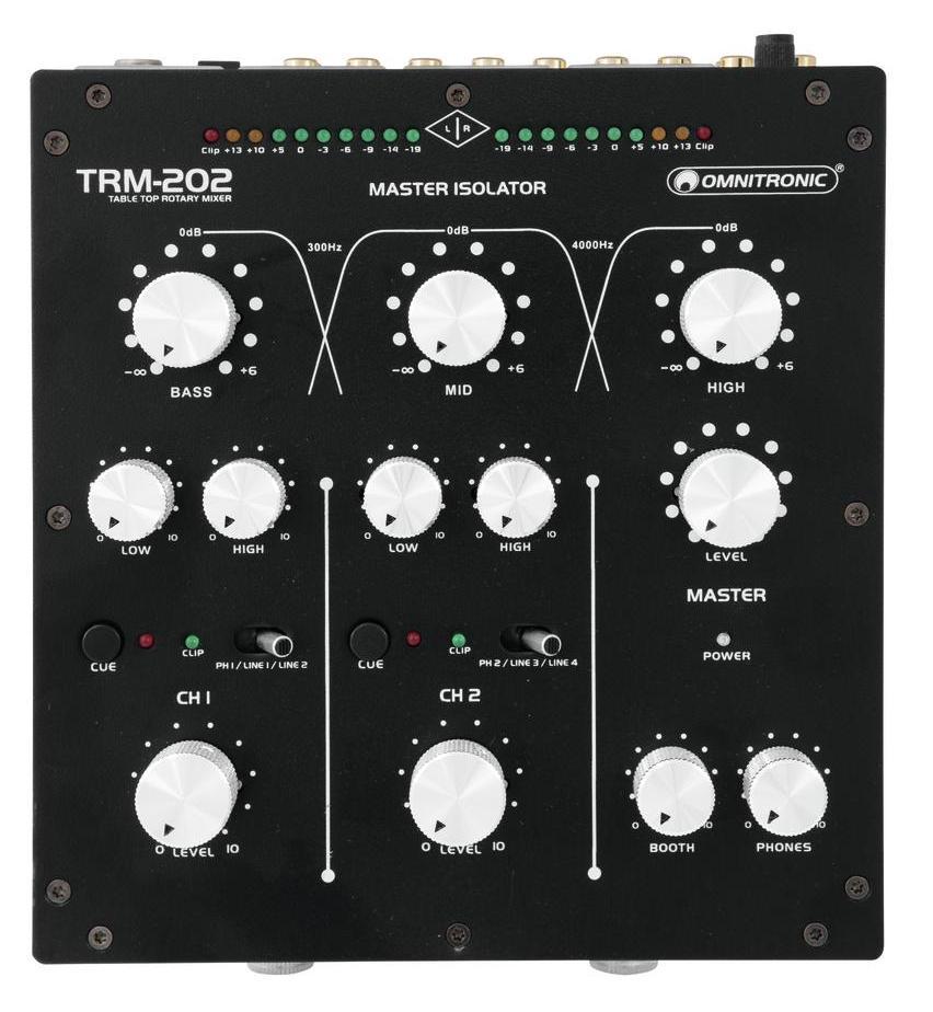 TRM-202 2-Kanal Rotary-Mixer